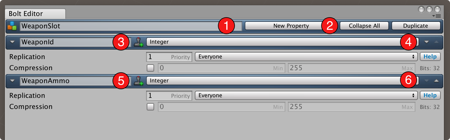 Configure the new Object Asset