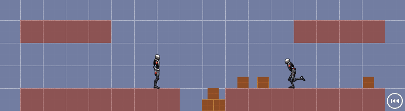 Screenshot of 2D Jump And Run Demo