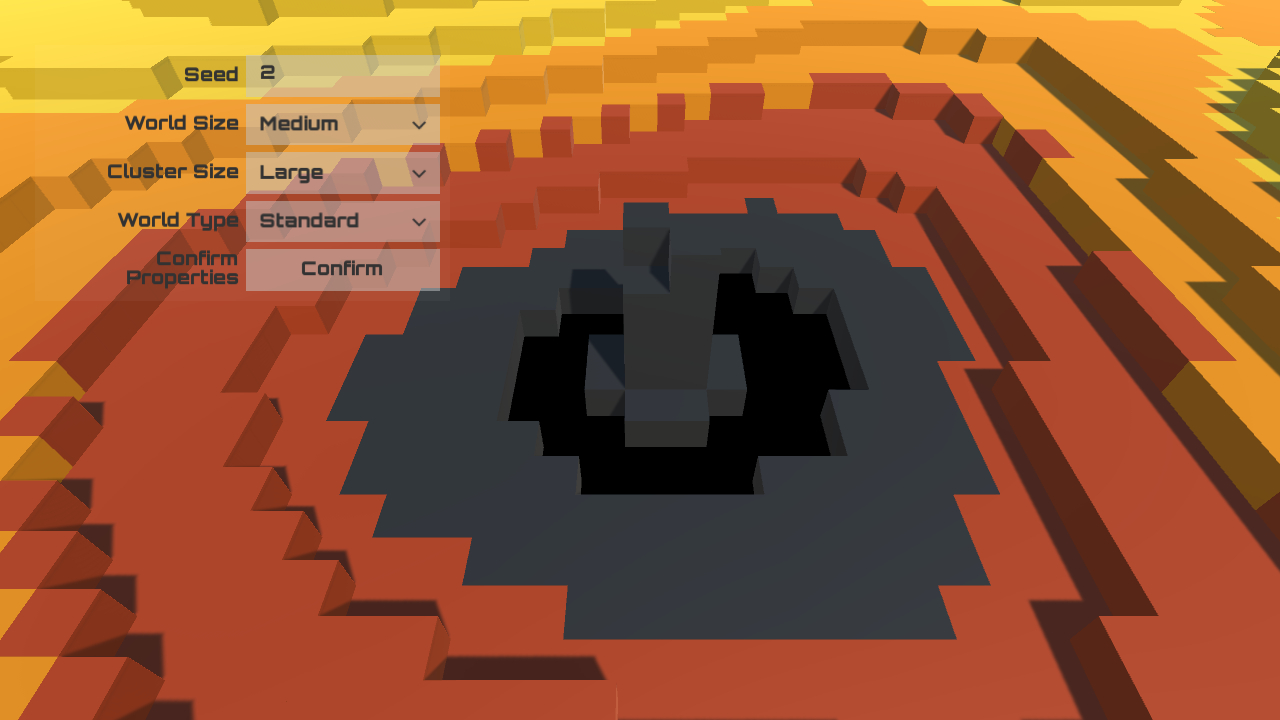 Screenshot of the Procedural demo