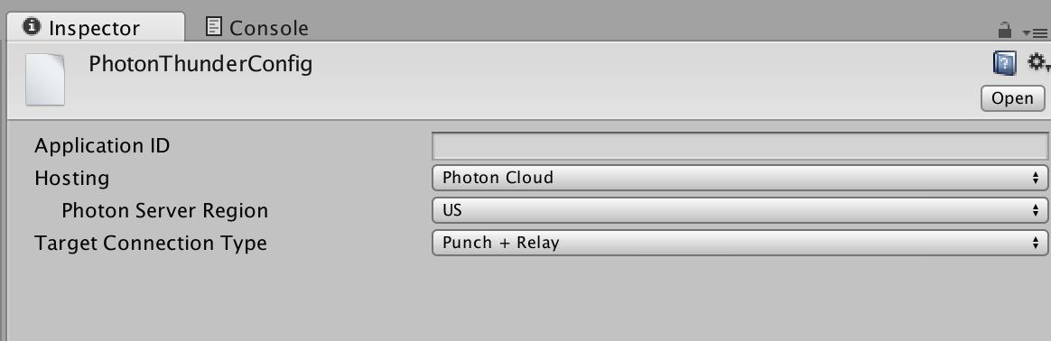 Running Photon Thunder | Photon Engine