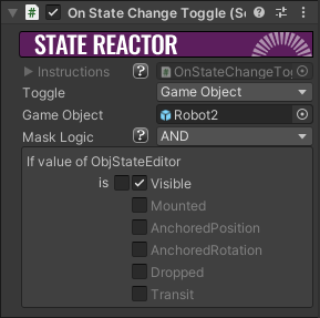 On State Change Toggle Component